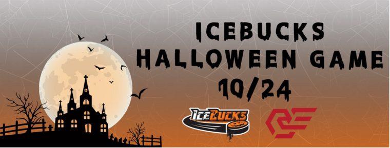10月24日「2021 ICEBUCKS HALLOWEEN GAME」開催のお知らせ